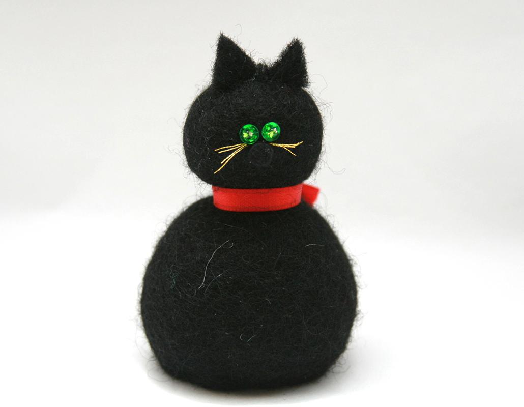 Christmas cat : Flókakonan